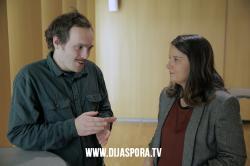 Помоћник министра за европске интеграције Тамара Делић на отварању изложбе Примењена носталгија у Бечу