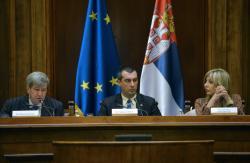 Министар за европске интеграције Ј. Јоксимовић на Деветом састанку Парламентарног одбора за стабилизацију и придруживање ЕУ и Србије
