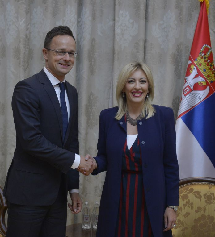 Serbia can count on Hungary's support in European integration