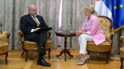 Министар Јадранка Јоксимовић и де ла Роса