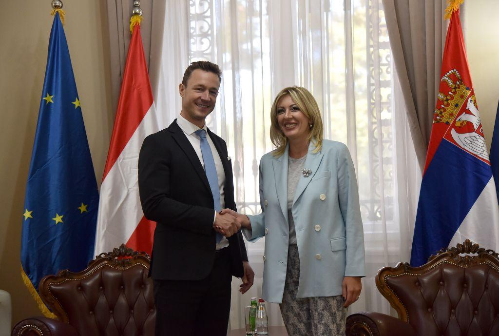 Ј. Јоксимовић: Очекујем отварање најмање три поглавља до краја године