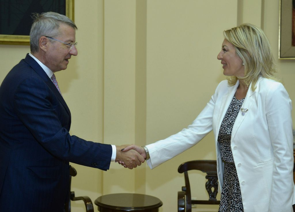 J. Joksimović and Ciamba: Bilateral discussions lead to a better position of national minorities