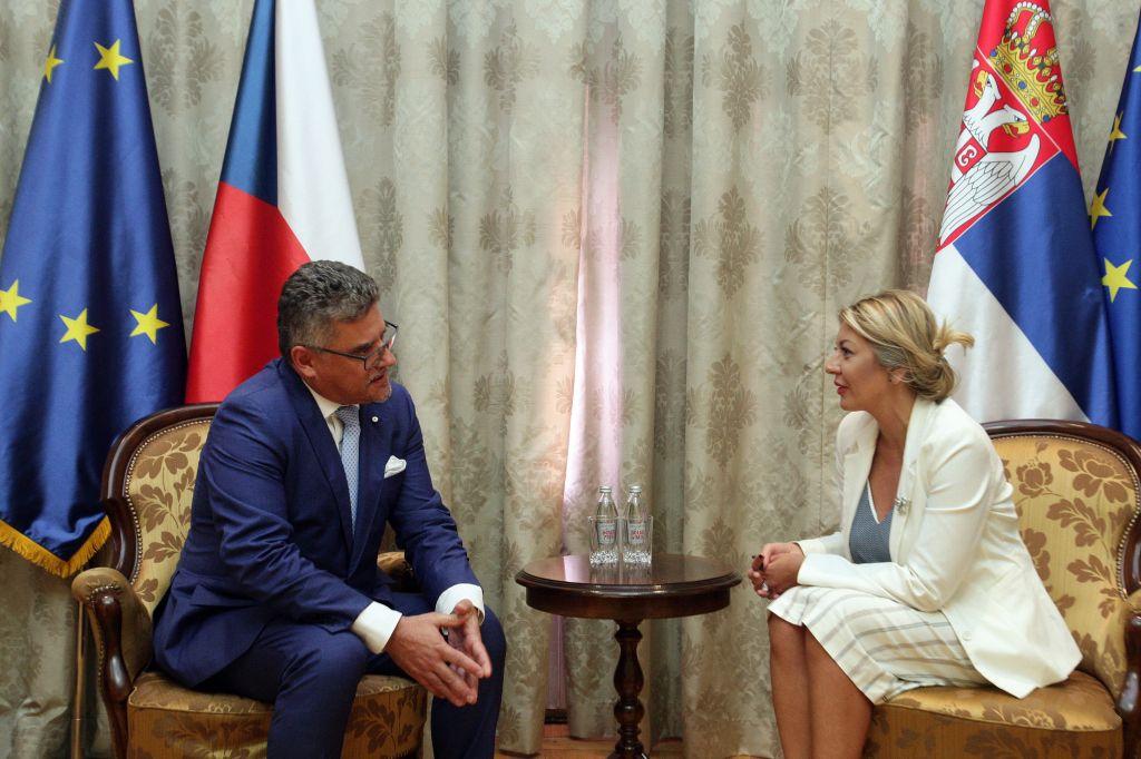 Ј. Јоксимовић и Кухта: Чешка преноси своја искуства из процеса европских интеграција