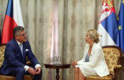 Министар Ј. Јоксимовић и њ.е. Томаш Кухта