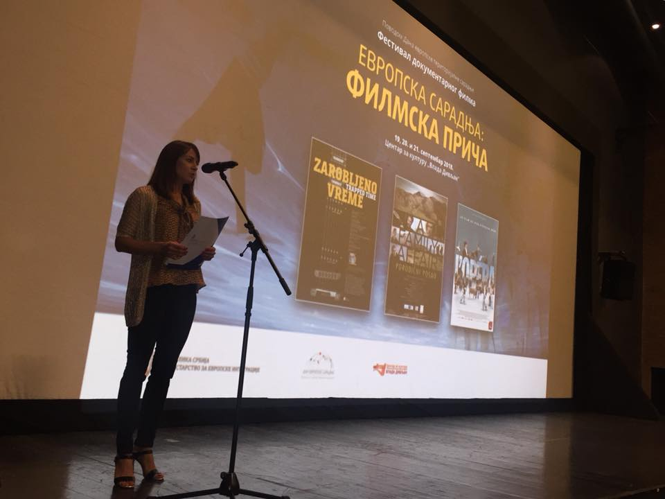 "Third documentary film festival ""European Cooperation: Film Story"" opened"